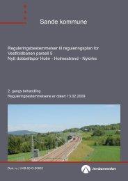 Sande kommune - Jernbaneverket