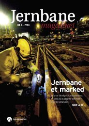 Jernbane et marked Nr. 8 – 2008 - Jernbaneverket