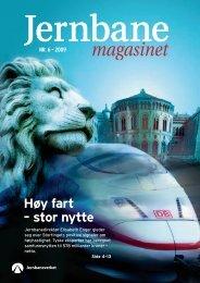 Jernbanemagasinet nr 6 2009 - Jernbaneverket