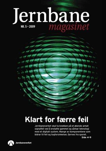 Jernbanemagasinet NR.5-2009 - Jernbaneverket