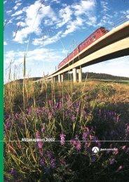 Miljørapport 2002 - Jernbaneverket