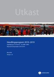 Handlingsprogram 2010–2019 - Jernbaneverket