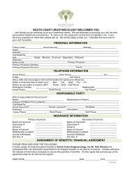 H&P Registration Forms Kit - Aesthetic Only - Urogyn.org