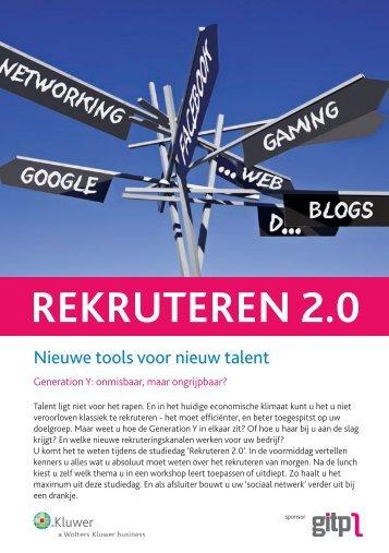 REKRUTEREN 2.0 - Schrijf.be