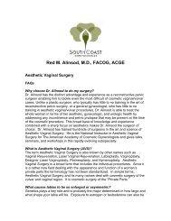 Red M. Alinsod, M.D., FACOG, ACGE - Urogyn.org