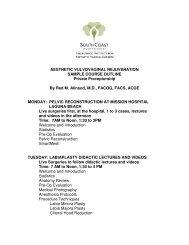 Preceptorship Agenda - Urogyn.org