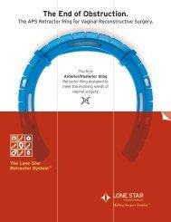 Lone Star APS Brochure - Urogyn.org