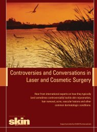 Controversies and Conversations in Laser and Cosmetic Surgery