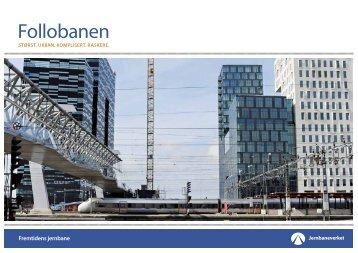 Follobanen -informasjon om prosjektet - Jernbaneverket