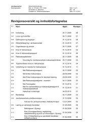 Endringer ved revisjon 01.12.2010 - Jernbaneverket
