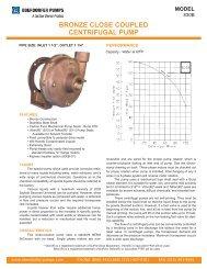 N992R-C82:OBERDORFER PUMPS N992r-C82 Bronze Gear Pump /& Motor Oberdorfer N992r-C82 Bronze Gear Pump And Motor Includes N992R Head 1//4HP 2400 RPM Tefc Motor. 24 VDC
