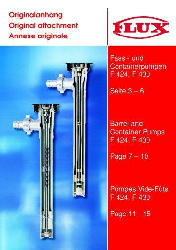 FB 98000008_Fasspumpen F 424, F 430_01_0212 - Depco Pump ...