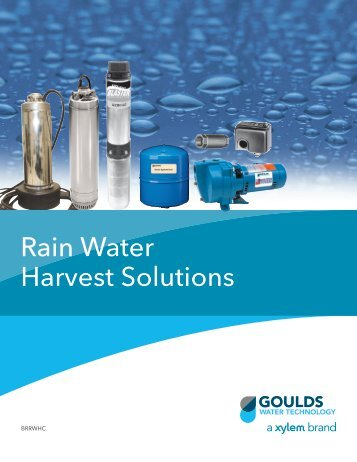 Rain Water Harvest Solutions - Depco Pump Company