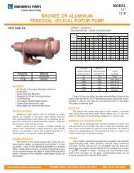 N4000RS15:OBERDORFER PUMPS N4000RS15 Bronze Pedestal Gear Pump Oberdorfer N4000RS15 Bronze Pedestal Gear Pump