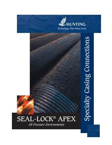 SEAL-LOCK APEX Brochure (6.3mb) PDF - Hunting Energy Services