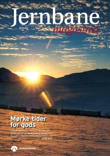 Jernbanemagasinet nr 8-2011 - Jernbaneverket