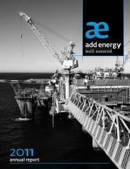 Annual Report 2011 - Add Energy