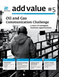 Oil and gas Communication Challenge - Add Energy