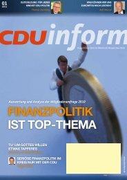 Tu' um Gottes Willen etwas Tapferes! - CDU Rheinisch-Bergischer ...