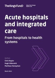 acute-hospitals-and-integrated-care-march-2015