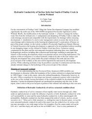 Report I (9 pp., 838 KB PDF) - Greenspace Alliance of Canada's ...
