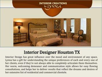 Interior Designer Houston TX