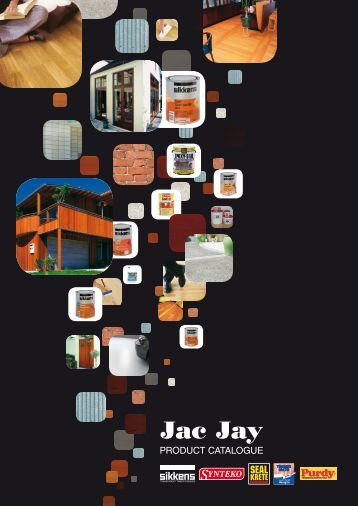PRODUCT CATALOG Table Of Contents - Jac Jay Ltd