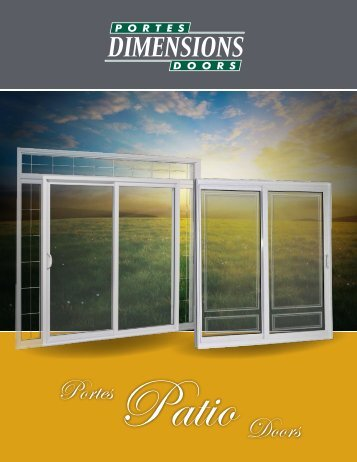Portes Patio Doors - Portes Dimension