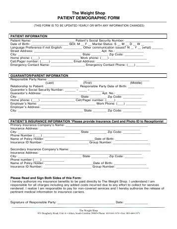 Patient Registration Form - Chen Ha, MD