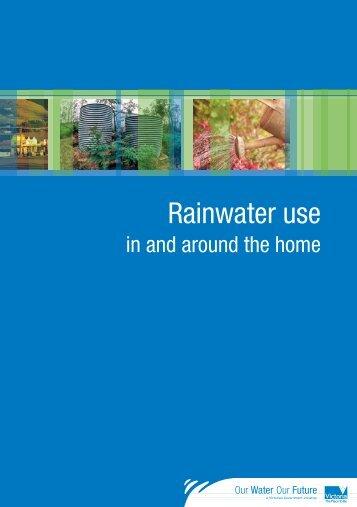 Rainwater use - EPA Victoria