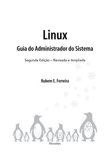Linux Guia do Administrador do Sistema - Novatec Editora