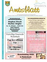 Tag der offenen Tür 11. Oktober - Verbandsgemeinde Weilerbach
