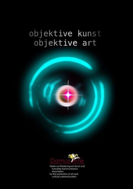 objektive kunst/objektive art