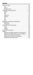 Sumário - Novatec Editora - Page 2