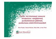 Puidu- kui biomassi ressursi hindamine ... - bioenergybaltic