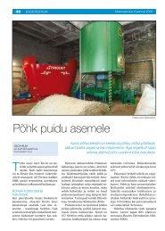Põhk puidu asemele - bioenergybaltic