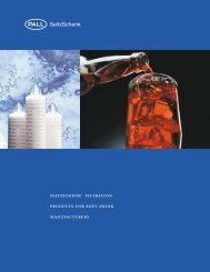 SEITZSCHENK® FILTRATION PRODuCTS FOR SOFT DRINK ...