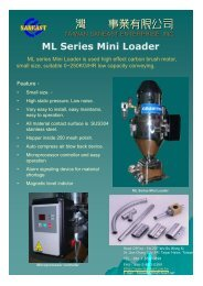 ML Series Mini Loader - 臺灣杉毅事業有限公司