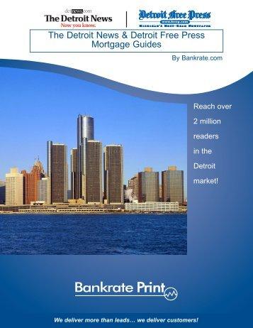The Detroit News & Detroit Free Press Mortgage Guides