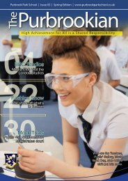 Download Purbrookian in PDF - Purbrook Park School