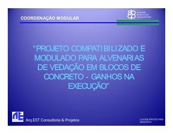coordenação modular - Comunidade da Construção