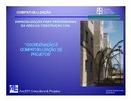 coordenação e compatibilização de projetos - Comunidade da ...