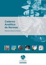 Caderno Analítico de Normas - Comunidade da Construção