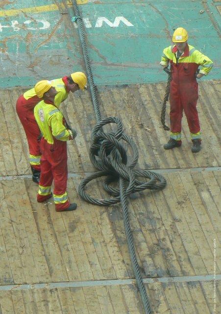 Verne- og miljøarbeid om bord på skip