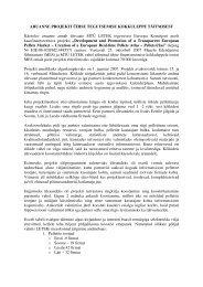 2007 aasta aruanne - bioenergybaltic