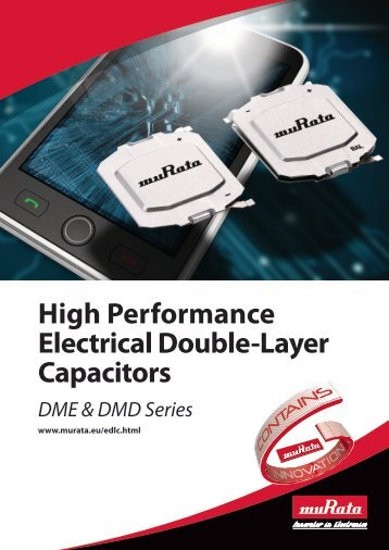 High Performance Electrical Double-Layer Capacitors - Murata