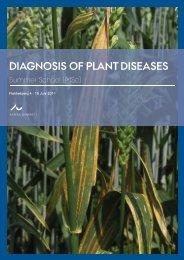 DIAGNOSIS OF PLANT DISEASES - NOVA University Network