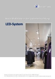 LED-System setzt neue Maßstäbe - Novatec Sicherheit und Logistik ...