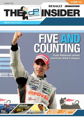 Issue 32 - GP2 Series