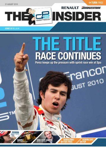 Issue 33 - GP2 Series
